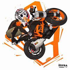 Ideas for dirt bike art design Motorcycle Stickers, Motorcycle Art, Bike Art, Road Bike Gear, Moto Bike, Dirt Bike Shop, Bike Freestyle, Duke Bike, Ktm Duke 200