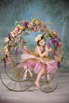 For one-of-a-kind couture fairy outfits, fanciful embellishments and whimsical little wings, look no further than Enchanted Fairyware Couture. Auryn, Fairy Clothes, Whimsical Wedding, Big Flowers, Booth Design, Fancy, Crafty, Flower Rings, Kids