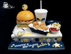 Fast Food Meal  Cake by Sweet Treasures