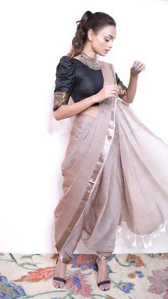 Nauvari Saree, Blouse Styles, Saree Styles, Stylish Blouse Design, Fancy Blouse Designs, Stylish Dress Designs, Designer Party Wear Dresses, Indian Designer Outfits, Indian Outfits