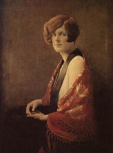 miss-france-1929 Grant Wood