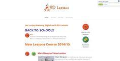 El principal atractivo de RDLessons, una web creada por dos profesores de inglés para practicar y mejorar el aprendizaje de este idioma, es que ofrece contenidos actuales para trabajar los ejercicios de siempre.