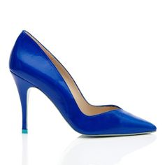 Royal blue wedding shoes. Click on the image to see our full gallery of Best Blue Wedding Shoes.