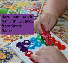 Have fun with brain boosting games from Smart Games! These are great for traveling! IQ Candy, Penguins Parade