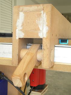 Picture of Circular Table Saw With Fence & Miter Gauge Awesome Woodworking Ideas, Best Woodworking Tools, Woodworking Organization, Woodworking Joints, Woodworking Workbench, Woodworking Workshop, Woodworking Furniture, Woodworking Projects, Woodworking Accessories