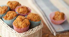Ricette vegane - Muffin arancia e fave di Tonka - Vegolosi