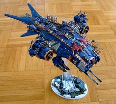 30k, Chaos, Chaos Space Marines, Conversion, Flyer, Heresy, Hutner Killer, Night Lords, Storm Eagle, Terminator Armor
