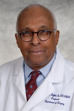 The first black president of the American Cancer Society and a graduate of Florida A&M University and the Howard University College of Medicine.