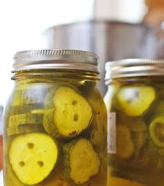 The Colors Of Indian Cooking: 15 Minute Sweet Pickles` made in the micro Great Recipes, Favorite Recipes, Recipe Ideas, How To Make Pickles, Bread & Butter Pickles, Homemade Pickles, Pickles Recipe, Sweet Pickles, Microwave Recipes