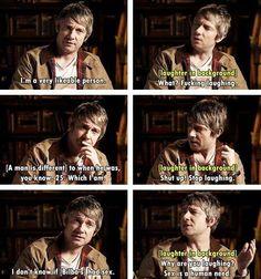 Ha! I love Martin Freeman