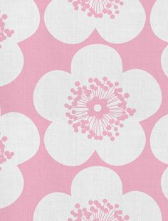 Pop Floral Designer Fabric by Aimée Wilder. Sold by the yard. This oversized pop art floral pattern is the perfect choice for your next children's upholstery, pillow, or drape project! Choose from fou