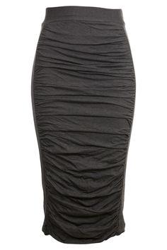 Mesop clothing online Sabrina Calf Length Skirt - Womens Knee Length Skirts - Birdsnest Fashion Clothing