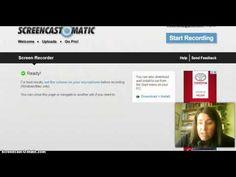 3.B. Herramientas y recursos: vídeos: Un video-screencast