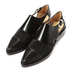【セール】Leather flat shoes(TOGA [トーガ] のシューズそのほか)