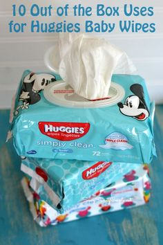 10 Out of the Box Uses for Huggies Wipes at Walmart (ad)