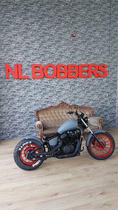 Cb750 Bobber, Honda Bobber, Bobber Bikes, Bobber Motorcycle, Motorcycle Clubs, Motorcycle Garage, Scrambler, Harley 1200 Custom, Honda Shadow Bobber
