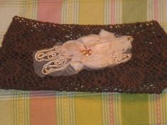 9.49$  Buy here - http://vivnz.justgood.pw/vig/item.php?t=lhk19h8339 - Brand New Brown Head Band With Pink Flower