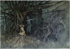 with ink made of stars...: Illustrious Illustrator: Warwick Goble