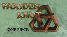 This video follows the process of making a trefoil knot from a solid wooden cube. The object has no purpose- other than to create wonder when viewed, or to s...