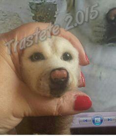 Needle Felting - Labrador en proceso by Trastete Miryam Sel Arias