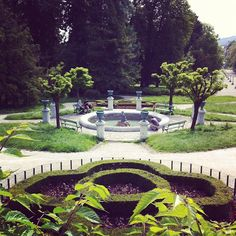 ivoli Park is Ljubljana's largest and most beautiful park, stretching right into the city centre. It was designed in 1813 by the French engineer Jean Blanchard and created by joining together the parks which had surrounded Podturn and Cekin Mansions.