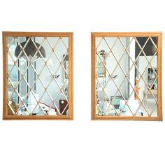 Pair of McGuire Mirrors