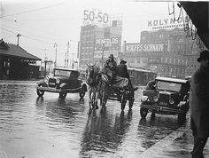 A dray, a Ford and a Morris Oxford Roadster, both 1932 models, in summer rain ~ FREE Photo ~ Morris Oxford, I Love Rain, Sydney City, Summer Rain, Car Photos, Historical Photos, Free Photos, Amazing Photography, Australia