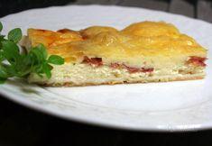 Slaný jogurtový koláč Quiche, Pizza, Sandwiches, Appetizers, Breakfast, Desserts, Ds, Cakes, Basket
