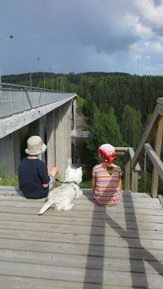 #Leppävirran silta #Huge_view #Summer #Westie #Sun #FInland Westies, Finland, Deck, Sun, Outdoor Decor, Summer, Home Decor, Summer Time, Decoration Home