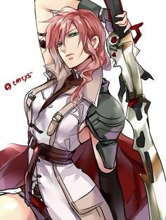 Lightning - Final Fantasy XIII: