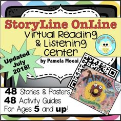 Storyline Online is AWESOME! This virtual reading and listening center will have your kids loving the wonderful stories available on their site.with only a scan of a QR code away! Classroom Tools, 3rd Grade Classroom, Teacher Tools, School Classroom, Classroom Resources, All About Me Activities, Book Activities, Teaching Resources, Winter Activities