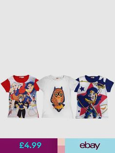 DC Super Hero Fashion Tops Clothes, Shoes & Accessories