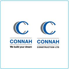 Connah Construction – logo design – graphic design – Designed by Tree