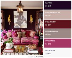 Spring/Summer Fashion Colour Inspiration 2016 applied to Interiors, via Plascon Trends Image Source: newyorksocialdiary.com