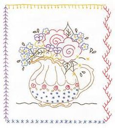 Image detail for -EMBROIDERY PATTERN REDWORK « EMBROIDERY & ORIGAMI