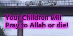 """Extremists Threaten to Kill German Children """"Accept Allah or DIE""""- https://www.therealstrategy.com/isis-in-germany/ …...  bB"""