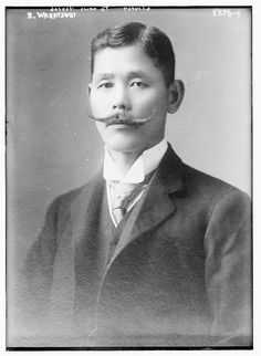 """Baron Wakatsuki Reijirō (若槻 禮次郎?, 21 March 1866 – 20 November 1949) was a Japanese politician and the 25th and 28th Prime Minister of Japan. Opposition politicians of the time derogatorily labeled him Usotsuki Reijirō, or """"Reijirō the Liar""""."""