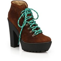 Polo Ralph Lauren Helene Suede Ankle Boots