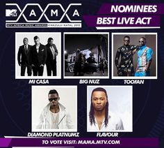 MTV MAMA 2015 Nominees Announced - Chicamod