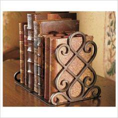 Décor Metal Items Set of 2 Book Ends Mondo Gifts | Wayfair