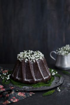 ... chocolate carob bundt cake ...                                                                                                                                                                                 Mais