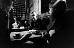 William Burroughs in Paris 1959, taken by Life photographer Loomis Dean but not published at the time