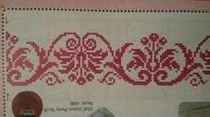 Cross Stitch Borders, Cross Stitch Art, Cross Stitching, Cross Stitch Embroidery, Hand Embroidery, Cross Stitch Patterns, Embroidery Designs, Thread Crochet, Filet Crochet