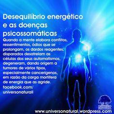 Desequilíbrio energético e as doenças psicossomáticas universe natural