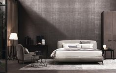 Double beds   Beds and bedroom furniture   Olivier   Flou. Check it out on Architonic