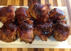the best baked chicken thighs EVER