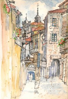 Rua do Vilar , Santiago de Compostela
