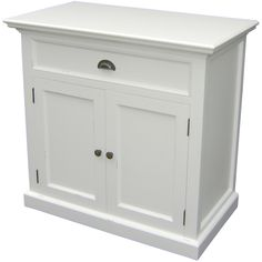 The Whitehaven Painted Mahogany Small Buffet Sideboard has plenty of dining room storage. it has a fixed shelf behind double doors and one compact drawer finished with a metal cup handle. Oak Furniture House, Pine Furniture, Dining Furniture, Furniture Sets, Furniture Online, Outdoor Furniture, Sideboard Modern, Small Sideboard, Sideboard Buffet