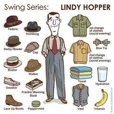 Vademecum of a Lindy Hopper (create your own leader) #lindyhop #lindyhoppers #lindyhopper #jitterbug #swing #swinger #swingdance #swinging #frankiemanning