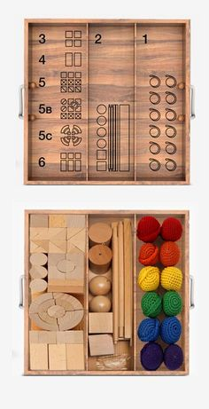 Spielgabin Inspiration. Can make my own set by getting items from dollar and art supply shops.